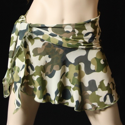 camouflage mesh wrap